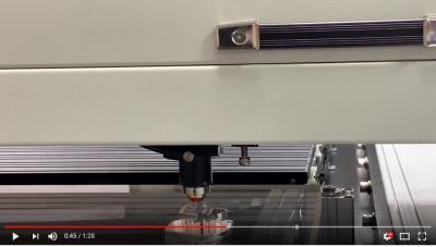 CSH-210P для резки 25 мм акрила (PMMA)